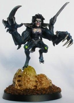 Alexis, bug/human hybrid queen