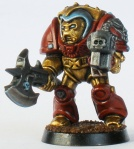 Terminator Librarian Rhodes of the Iron Men