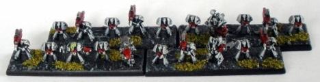 SIn Eater Devastator Marines in MK6 Corvus Armour