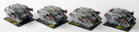 Sin Eater Land Raider Battle Tanks