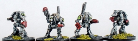 Sin Eater Space Marine Dreadnoughts