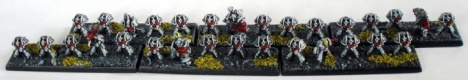 Sin Eater Tactical Marines in MK7 Aquila Armour