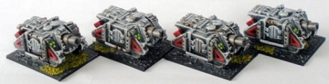 Sin Eater Vindicator Siege Tanks