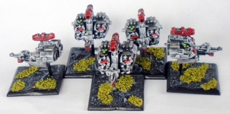 Sin Eaters Space Marine Land Speeders