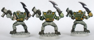 Flesh golem officers