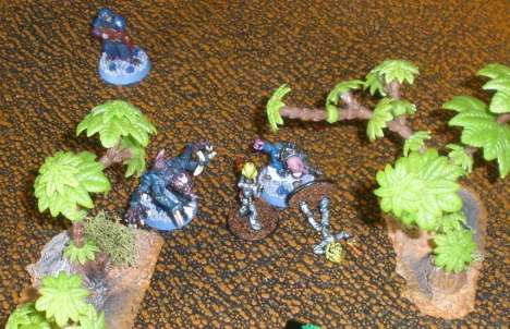 SOS' Genestealer coven gets to grips with PB's Little Green Men