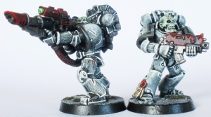 Lascannon and Bolter