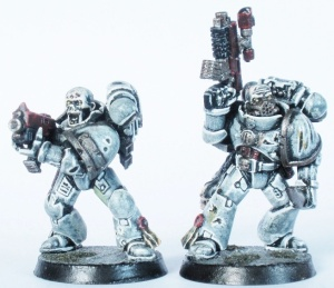 Bolter Marine and Sergeant Rico