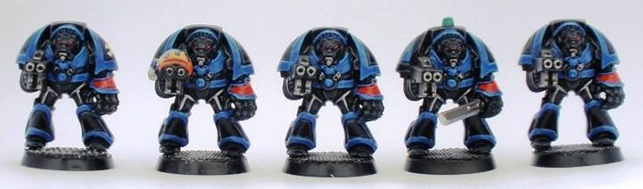 Space Hulk Space Marines