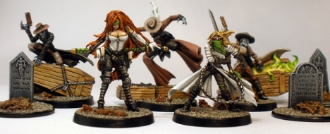 Lady Justice Malifaux Crew