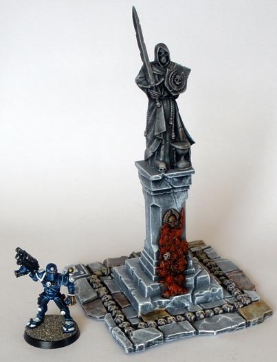 Graveyard Statue 1