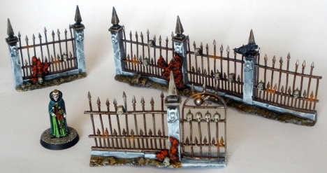 Graveyard fences