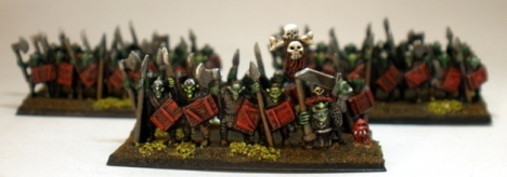 Goblin spear unit.