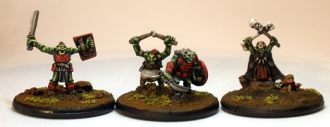 10mm Orc Heroes