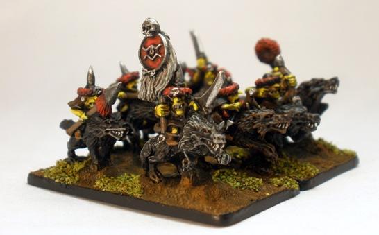 Orcs Goblin Warriors Warmaster Type 1 - 10mm
