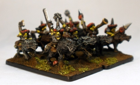 10mm Hobgoblin Wolf Riders