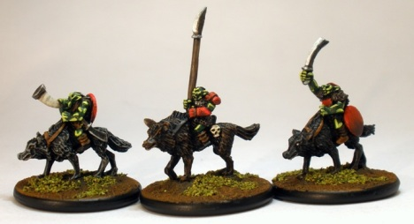 10mm Mounted Goblin Heroes