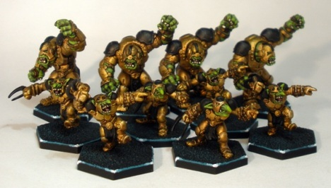 B.P. Oilers Dreadball Marauder Team