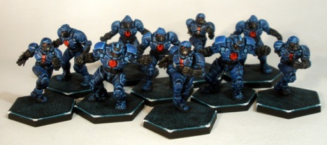 OCP Patriots Dreadball Corporation Team