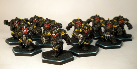 Ursa Miner Bruins Dreadball Forgefather Team