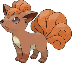 Vulpix the Pokémon - courtesy of Bulbapedia