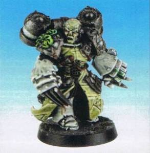 Chaos Lord Eddie. The definition of a suicidal, one-shot weapon.