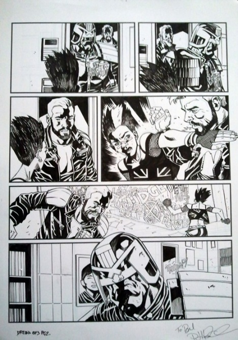 Judge Dredd - The Forsaken Pt3, p2, prog 1832