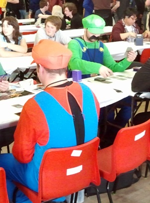 Mario & Luigi play CCGs