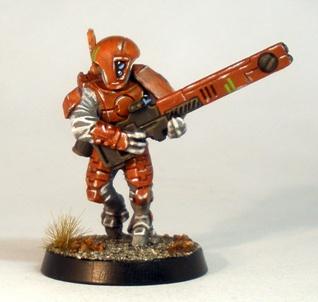 Tau Fire Warrior test Piece