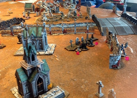 THRILLING alien graveyard shoot outs!
