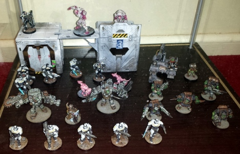 Deadzone miniatures in the Mantic HQ