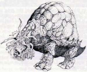 Ferro Beast as depicted in Warhammer 40,000: Rogue Trader