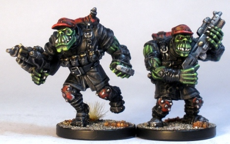 Two Marauder Commandos