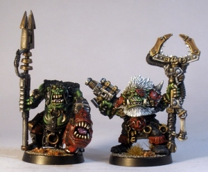 L to R: cureent plastic Runtherd, Zodgrod.