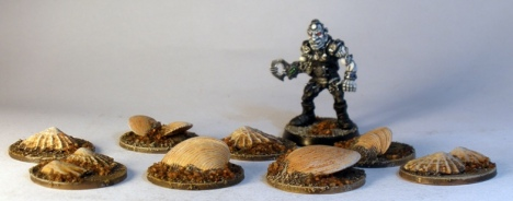 Carnivorous Sand Clams