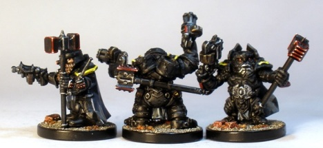 L to R: Steel Warrior, Huscarl, Stormrage Veteran