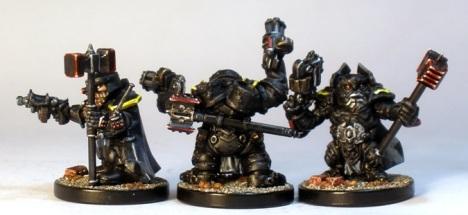 L to R: Steel Warrior, Huscarl, Stormrage Veteran