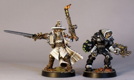 Back to back with Inquisitor Verhoeven