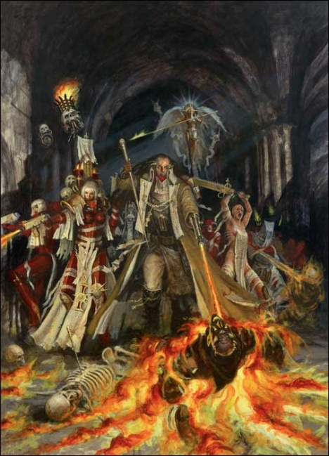3rd Edition WH40K Witch Hunter Codex