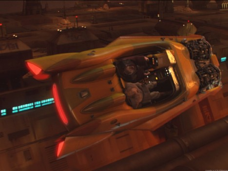 Like the Fifth Element vehicles, the raygun gothic style of the vehicles flying around Coruscant in Star Wars episodes 1-3 also appeal to me.