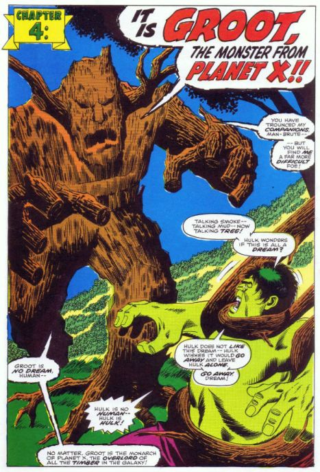 Groot was chattier in the seventies.