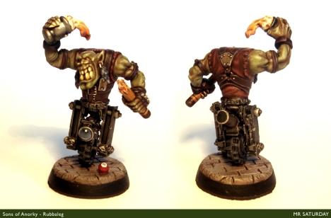 Rubbaleg, representative of the Sons of Anorky/Mr Saturday