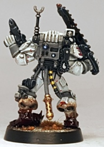 "The ""mechanalysis pack"" comes from the really rather brilliant Skitarii range."