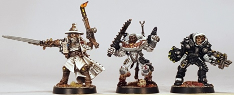 L to R: Ordo hereticus Inquisitor Jodorowsky, Ordo Sepulturum Inquisitor Raimi, Ordo Xenos Inquisitor Verhoeven