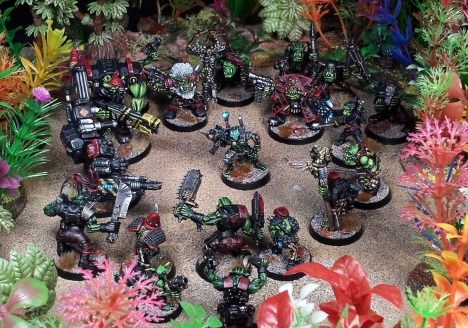 The operation on Eylea went as planned:  eighty seven ork casualties upon operative extraction.