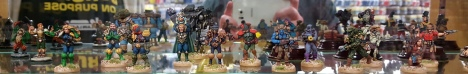 Some Foundry 2000AD figs.  Kevin Dallimore paint jobs I think.