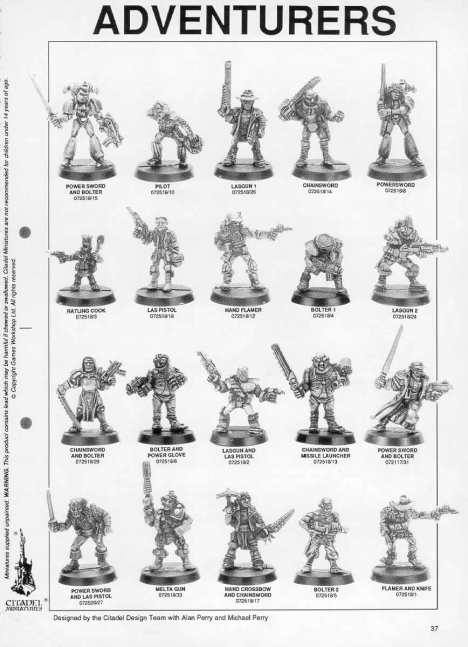 "Citadel Miniaitures 1991 ""Blue"" Catalogue (Image from solegends.com)"