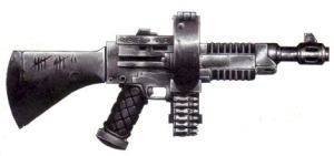 Ogryn Ripper Gun