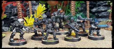 """You, put your knickers on and get us a cup of recaff. You lot, do what the ogryn tells you... your in the Inquisition now"""