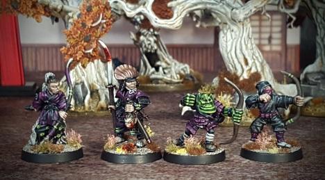 #13 - #16: Samurai, Ninja, Orc